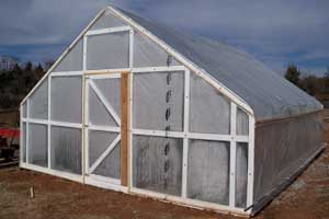 Urban Acres Gabled End Greenhouse Kits